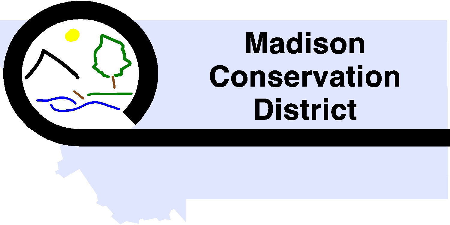 Logo for Madison Conservation District.
